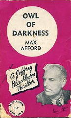 MAX AFFORD - Owl of Darkness